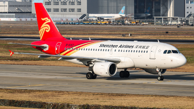 A picture of B6197 - Airbus A319115 - Shenzhen Airlines - © libohang