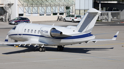 T7-TAV - Bombardier CL-600-2B16 Challenger 650 - Private