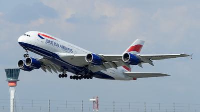 G-XLEE - Airbus A380-841 - British Airways