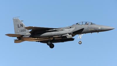 97-0220 - Boeing F-15E Strike Eagle - United States - US Air Force (USAF)