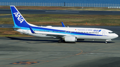 A picture of JA55AN - Boeing 737881 - All Nippon Airways - © tomobile