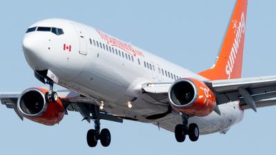 C-FTOH - Boeing 737-8HX - Sunwing Airlines