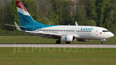 A picture of LXLGR - Boeing 7377C9 - [33803] - © Martin Tietz