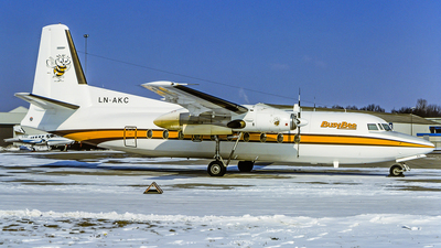 LN-AKC - Fokker F27-200 Friendship - Busy Bee