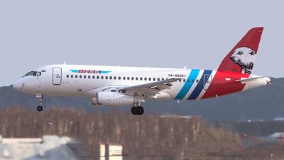 RA-89087 - Sukhoi Superjet 100-95LR - Yamal Airlines