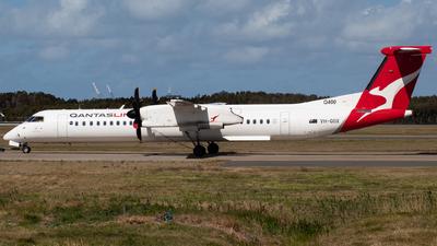A picture of VHQOX - De Havilland Canada Dash 8400 - Qantas - © Josh Deitz
