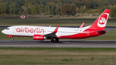 D-ABKD - Boeing 737-86J - Air Berlin