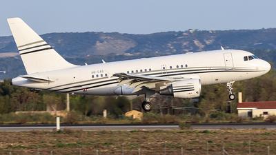 A6-CAS - Airbus A318-112(CJ) Elite - Elite Jets