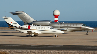 EC-LDE - Cessna 525 CitationJet 1 Plus - Private
