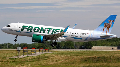 A picture of N348FR - Airbus A320251N - Frontier Airlines - © Chrisjake