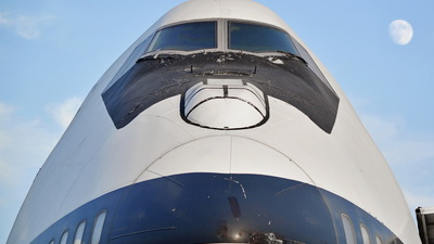 5-8105 - Boeing 747-131(SF) - Meraj Air