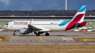 A picture of DAEWP - Airbus A320214 - Eurowings - © Holger Frank