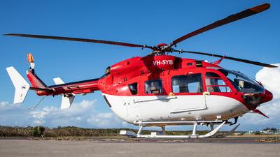 VH-SYB - MBB BK117C-2 - CHC Helicopters Australia