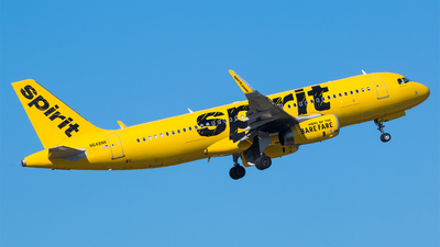 A picture of N648NK - Airbus A320232 - Spirit Airlines - © Hector Rivera - Puerto Rico Spotter