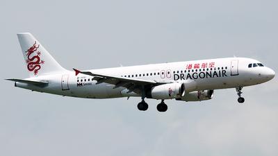 B-HSI - Airbus A320-232 - Dragonair