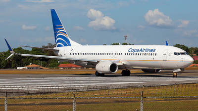 A picture of HP1841CMP - Boeing 7378V3 - Copa Airlines - © Alexis Navarro