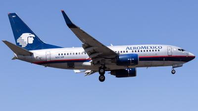 A picture of N997AM - Boeing 73776Q - Aeromexico - © Francisco Enrique Islas Bautista