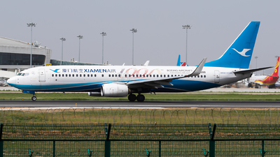 A picture of B5688 - Boeing 73785C - Xiamen Air - © Sebastian Shen