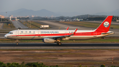 B-1891 - Airbus A321-231 - Sichuan Airlines