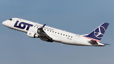 A picture of SPLIA - Embraer E175STD - LOT - © Kuba Kawczynski