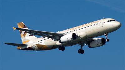 A6-EIN - Airbus A320-232 - Etihad Airways
