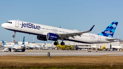 A picture of N2029J - Airbus A321271NX - JetBlue Airways - © Jay Cassady