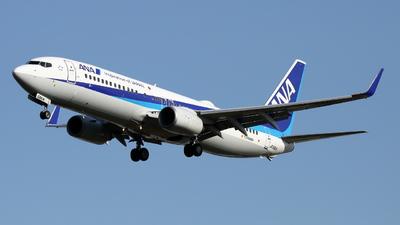A picture of JA58AN - Boeing 737881 - All Nippon Airways - © Tokubee