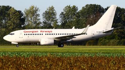 4L-GTI - Boeing 737-7CT - Georgian Airways