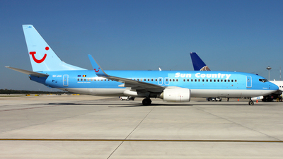 OO-JAA - Boeing 737-8BK - Sun Country Airlines