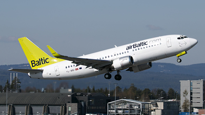 YL-BBI - Boeing 737-33A - Air Baltic