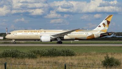 A6-BLZ - Boeing 787-9 Dreamliner - Etihad Airways