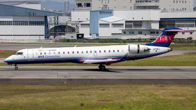 A picture of JA11RJ - Mitsubishi CRJ702ER - Ibex Airlines - © Tokubee
