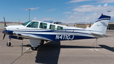 N411GJ - Beech A36 Bonanza - Private