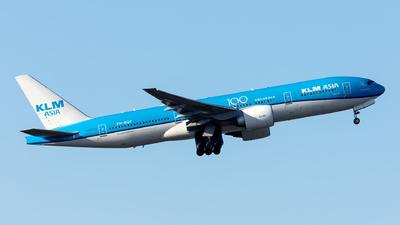 PH-BQF - Boeing 777-206(ER) - KLM Asia