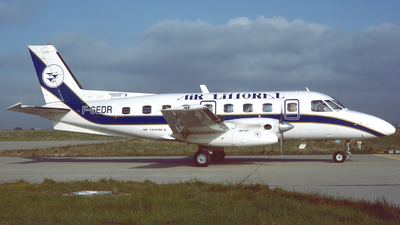 F-GEDR - Embraer EMB-110P1 Bandeirante - Air Littoral
