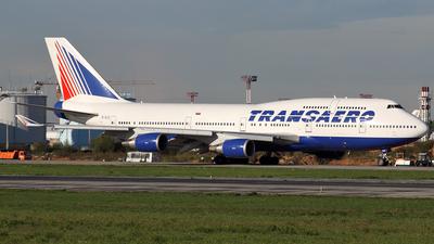 EI-XLD - Boeing 747-446 - Transaero Airlines