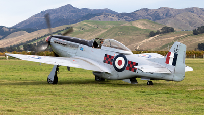 ZK-TAF - North American P-51D Mustang - Private