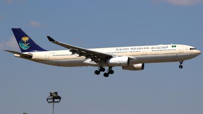 HZ-AQB - Airbus A330-343 - Saudi Arabian Airlines