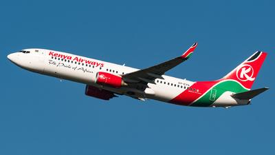 5Y-CYA - Boeing 737-8HX - Kenya Airways