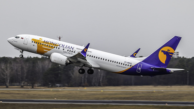 EI-MNG - Boeing 737-8 MAX - MIAT Mongolian Airlines