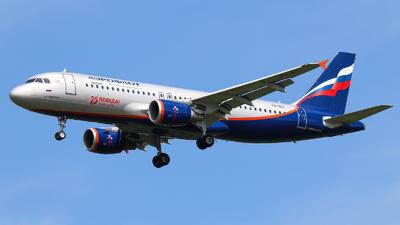 A picture of VQBIU - Airbus A320214 - Aeroflot - © Vitaly Revyakin