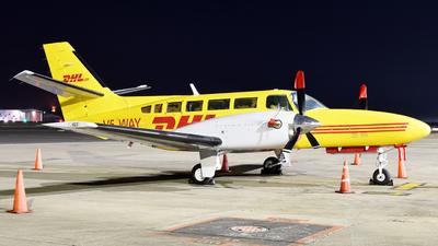 A picture of V5WAY - ReimsCessna F406 Caravan II - DHL - © ORTIASpotter