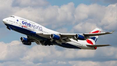 G-CIVP - Boeing 747-436 - British Airways