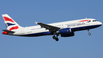 G-EUYF - Airbus A320-232 - British Airways