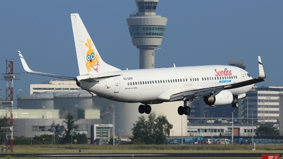 4X-EKR - Boeing 737-804 - Sun d'Or International Airlines