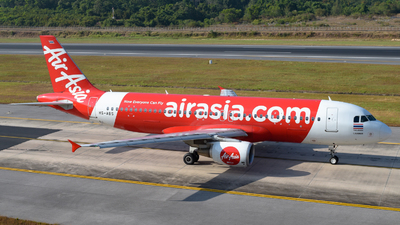 A picture of HSABS - Airbus A320216 - AirAsia - © Alexander Listopad