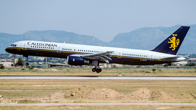 G-BPEF - Boeing 757-236 - Caledonian Airways