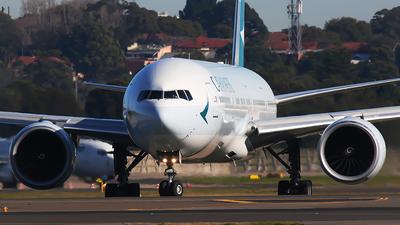 B-KQD - Boeing 777-367ER - Cathay Pacific Airways