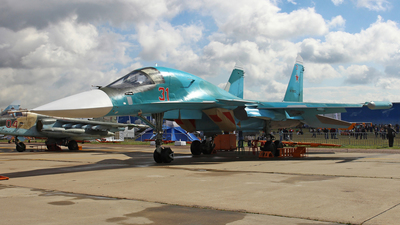 RF-93823 - Sukhoi Su-34 Fullback - Russia - Air Force