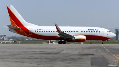 YA-KMV - Boeing 737-3H4 - Kam Air